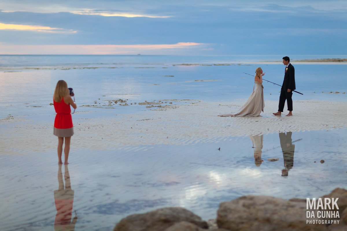 Beach Grand Bahama Island Bahamas Wedding