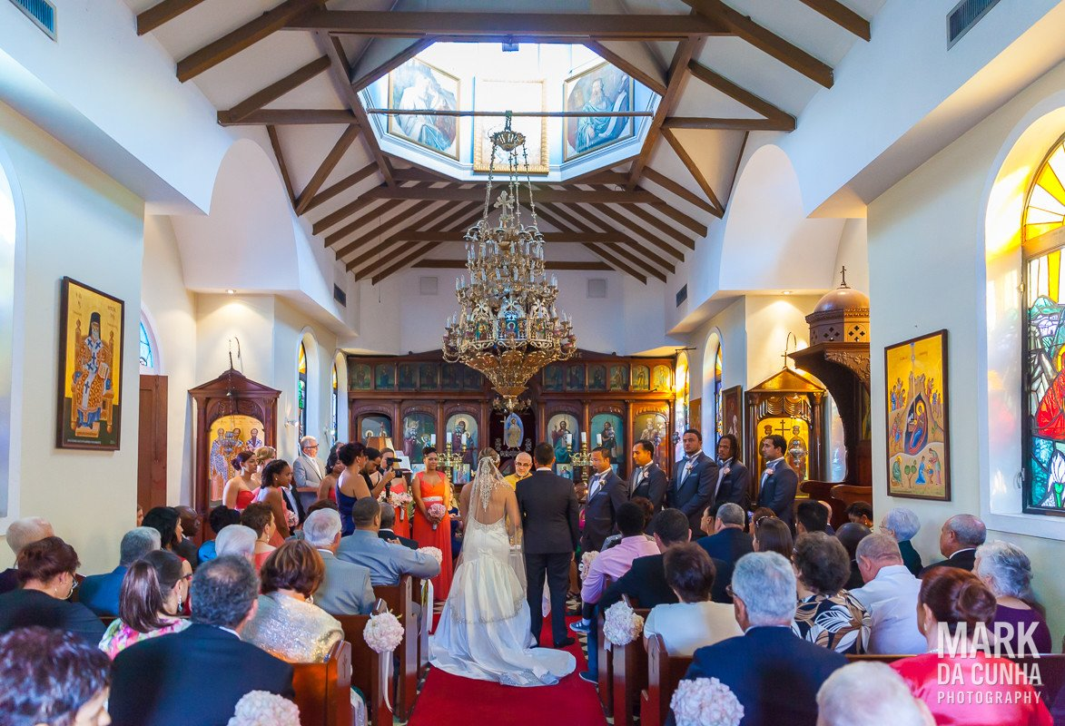 Greek Orthodox Church Ceremony Nassau Bahamas Wedding
